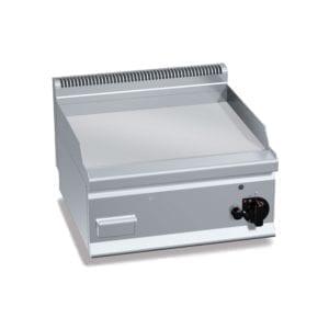 Plaque de cuisson gaz 596 x 430 mm chromée