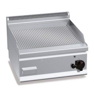 Plaque de cuisson gaz 596 x 430 mm rainurée