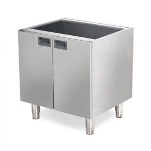 Support pour cuisinière gaz / 2 portes