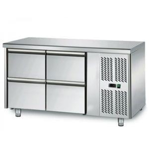Table réfrigérée 700 / 4 tiroirs