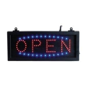 Enseigne lumineuse OPEN - LED