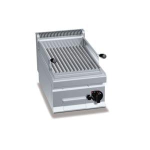>Grill pierre de lave gaz (7kW) / à poser