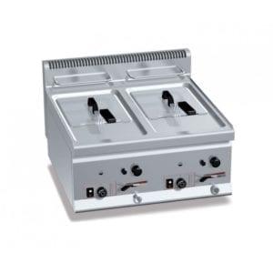Friteuse gaz 2x8 litres (13.2kW) à poser