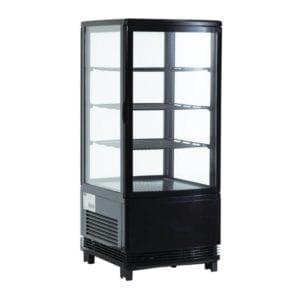 Vitrine réfrigérée de comptoir 68L - Noir