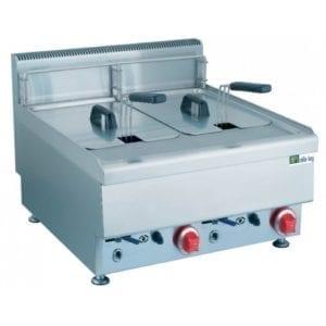 Friteuse électrique 650 - 2 x 12,5 litres